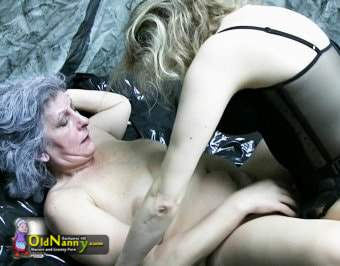Mistress fucks her slave with strapon