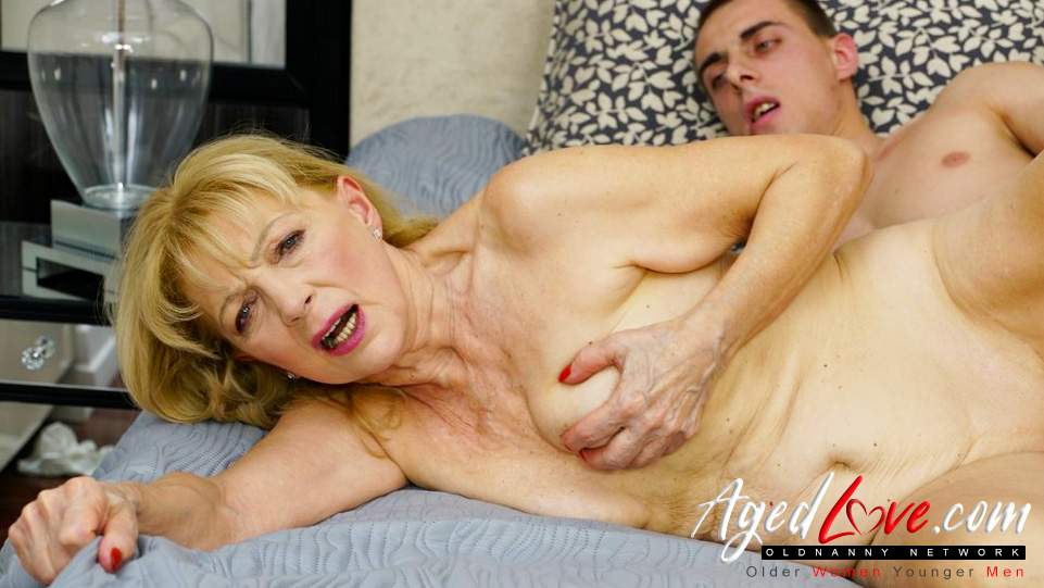 Grannies having sex with boys