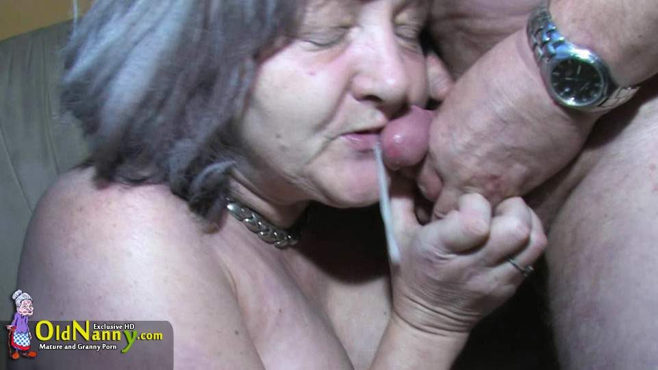 grandma sucked my cock